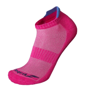 Tennis Socks Babolat Invisible Women x 2 Socks  Pink/Blue 5WS183615011
