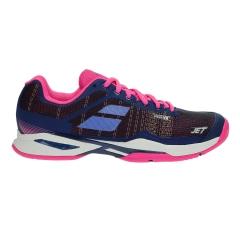 Women`s Tennis Shoes Babolat Jet Mach I All Court  Blue/Pink 31S186514006