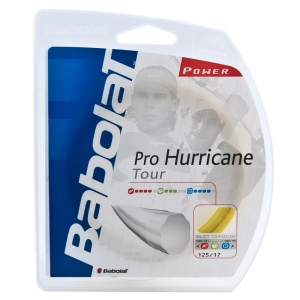 Polyester String Babolat Pro Hurricane Tour 1.25 12 m Set  Fluo Yellow 241102113125