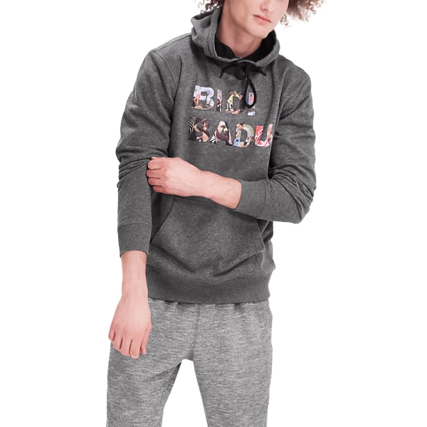 Bidi Badu Kojo Lifestyle Hoody - Dark Grey 001124-DKGR