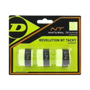 Overgrip Dunlop Revolution NT Tacky Overgrip x3  Yellow 307088