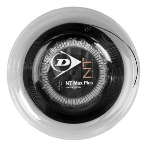 Polyester String Dunlop NT Max Plus 1.25 200 mt Reel  Black 624801