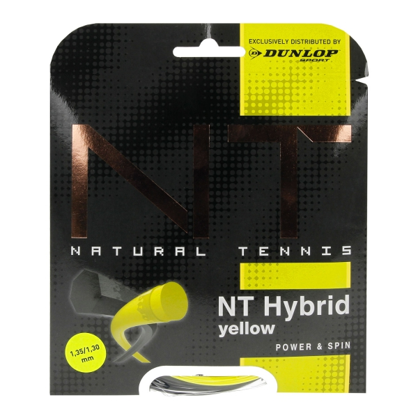 Dunlop NT Hybrid 1.35/1.30 Set 12.2 mt - Yellow/Black 624764