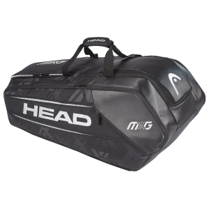 Tennis Bag Head MxG x 12 Monstercombi Bag  Black/Silver 283718 BKSI