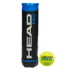 Head Tennis Balls Head Pro  4Ball Can 571604