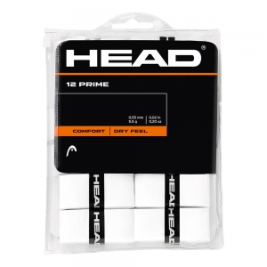 Overgrip Head Prime Overgrip x12  White 285485