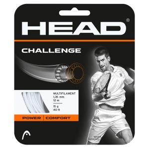 Multifilament String Head Challenge 1.35 Set 12m  White 281806 15WH