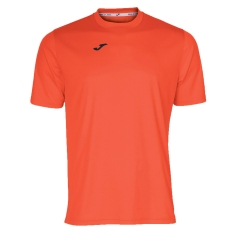 Men's Tennis Shirts Joma Combi TShirt  Fluo Coral/Black 100052.040