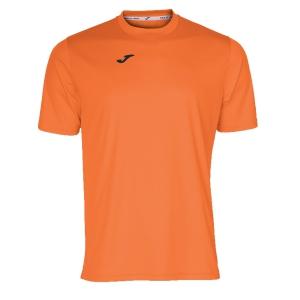 Maglietta Tennis Uomo Joma Combi TShirt  Orange/Black 100052.800