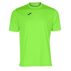 Maglietta Tennis Uomo Joma Combi TShirt  Fluo Green/Black 100052.020