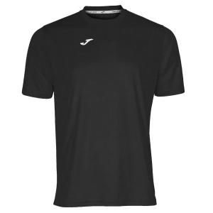 Maglietta Tennis Uomo Joma Combi TShirt  Black/White 100052.100