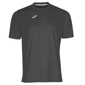 Maglietta Tennis Uomo Joma Combi TShirt  Dark Grey/White 100052.150