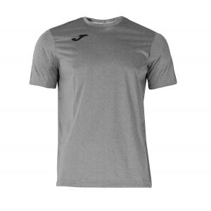 Maglietta Tennis Uomo Joma Combi TShirt  Grey/Black 100052.250