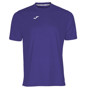 Maglietta Tennis Uomo Joma Combi TShirt  Violet/White 100052.550
