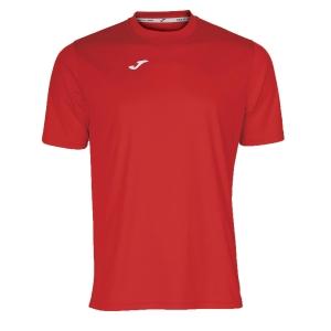 Maglietta Tennis Uomo Joma Combi TShirt  Red/White 100052.600