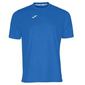 Maglietta Tennis Uomo Joma Combi TShirt  Blue/White 100052.700