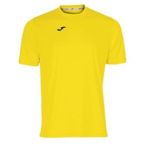 Maglietta Tennis Uomo Joma Combi TShirt  Yellow/Black 100052.900
