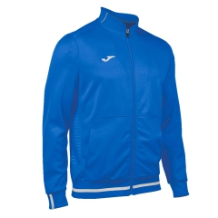 Joma Campus II Fleece Jacket - Blue/White