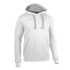 Boy - Tracksuit and Hoodie Joma Boy Comfort Hoodie  White/Grey 100445.200