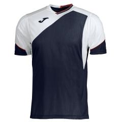Joma Granada V-Neck T-Shirt - Navy/White/Red