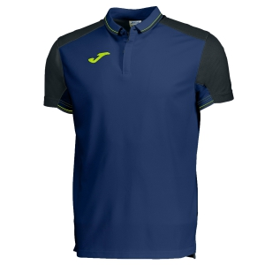 Men's Tennis Polo Joma Granada Polo  Navy/Black/Volt 100567.301