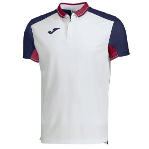Men's Tennis Polo Joma Granada Polo  White/Navy/Red 100567.203