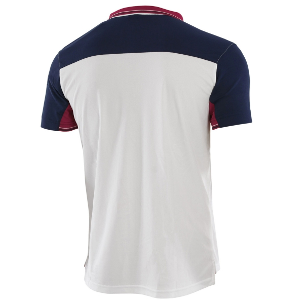 Joma Granada Polo - White/Navy/Red