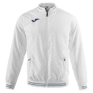 Men's Tennis Jackets Joma Torneo II Microfiber Jacket  White 100640.200