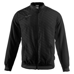 Men's Tennis Jackets Joma Torneo II Microfiber Jacket  Black 100640.100