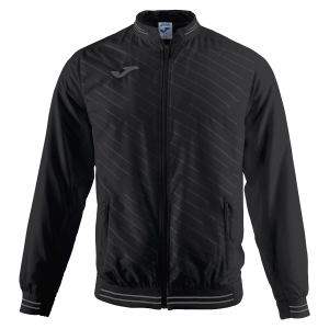 Men's Tennis Jackets Joma Torneo II Jacket  Black/Grey 100820.100