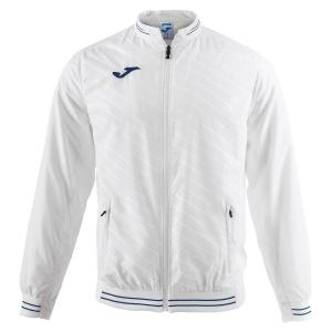 Men's Tennis Jackets Joma Torneo II Jacket  White/Navy 100820.200