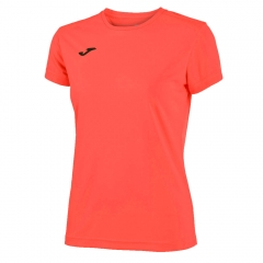 Joma Combi T-Shirt - Fluo Coral/Black