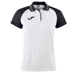 Women`s Tennis T-Shirts and Polos Joma Torneo II Polo  White/Black 900454.201