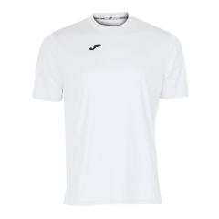 Tennis Polo and Shirts Joma Boy Combi TShirt  White/Black 100052.200