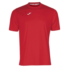 Tennis Polo and Shirts Joma Boy Combi TShirt  Red/White 100052.600