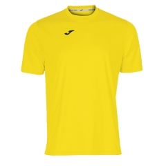 Tennis Polo and Shirts Joma Boy Combi TShirt  Yellow/Black 100052.900