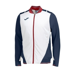 Tennis Jackets for Boys Joma Boy Granada Jacket  White/Navy/Red 100561.203