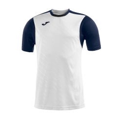 Tennis Polo and Shirts Joma Boy Torneo II TShirt  White/Navy 100637.203