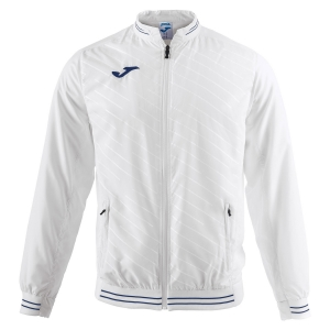 Giacche Tennis Boy Joma Boy Torneo II Jacket  White/Navy 100820.200