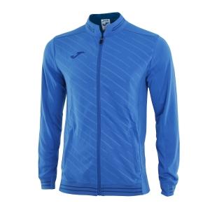 Giacche Tennis Boy Joma Boy Torneo II Jacket  Blue/Navy 100820.700