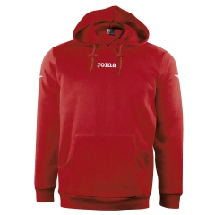 Boy - Tracksuit and Hoodie Joma Boy Atenas Fleece Hoodie  Red 6017.10.60