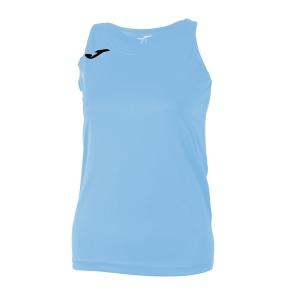 Top and Shirts Girl Joma Girl Diana Tank  Light Blue/Black 900038.350