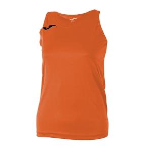 Top and Shirts Girl Joma Girl Diana Tank  Orange/Black 900038.800