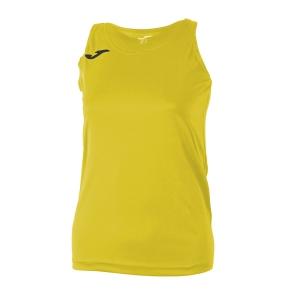 Top and Shirts Girl Joma Girl Diana Tank  Yellow/Black 900038.900