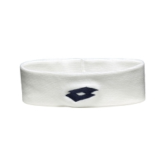 Tennis Head and Wristbands Lotto Ace II Headband  White/Black S1696