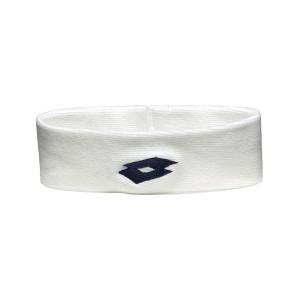 Tennis Head and Wristbands Lotto Ace II Headband  White/Black S1696