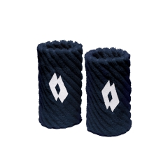 Tennis Head and Wristbands Lotto Twist Wristbands  Navy/White S7067