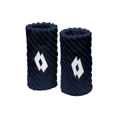 Tennis Head and Wristbands Lotto Twist Wristbands  Navy/White S7070
