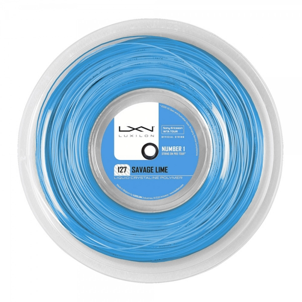 Luxilon Savage 1.27 200 m Reel - Blue WRZ902320