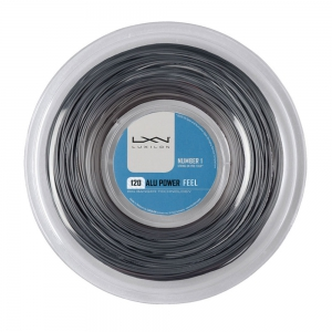 Polyester String Luxilon BB Alu Power Feel 1.20 200 m Reel  Grey WRZ990160
